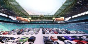 Hard Rock Stadium, casa do Miami Dolphins, oferecerá drive-in