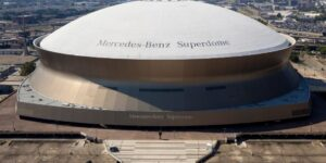 Sem Mercedes-Benz, icônico Superdome busca novo naming right