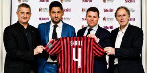 Milan anuncia patrocínio com a plataforma de pagamento on-line Skrill