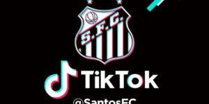Por jovens, Santos e Fluminense lançam perfis oficiais no TikTok