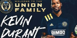 Kevin Durant adquire 5% do Philadelphia Union, da MLS