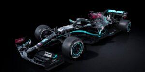 Contra o racismo e a discriminação, Mercedes terá carro preto na F1 em 2020