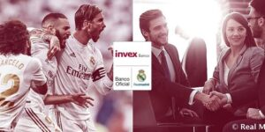 Por mercado mexicano, Real Madrid fecha acordo com Invex Banco