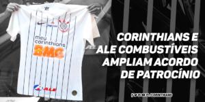 Corinthians e ALE Combustíveis renovam patrocínio