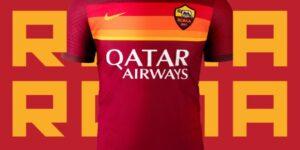 AS Roma apresenta o seu novo uniforme, o último da parceria com a Nike