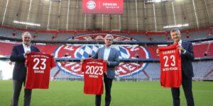 Bayern de Munique renova parceria com a Siemens até 2023