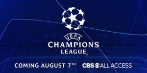 Sem Turner, CBS antecipa acordo com Uefa e transmitirá Champions para os EUA