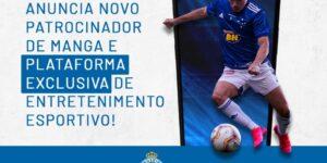 Cruzeiro anuncia Cartão de Todos e Galera.bet como novos patrocinadores