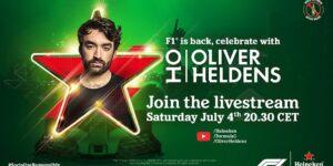 Heineken ativa retorno da Fórmula 1 com show virtual