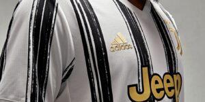 Juventus e Adidas lançam camisa para a temporada 2020/2021