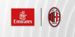 Por valor menor, Milan oficializa renovação com Emirates até 2023