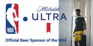 Michelob Ultra é a nova cerveja oficial da NBA