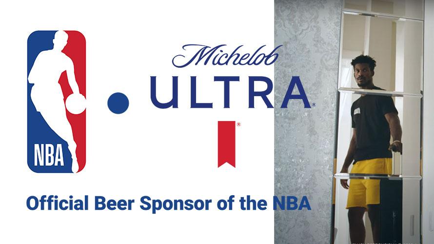 Michelob Ultra é a nova cerveja oficial da NBA - MKT Esportivo