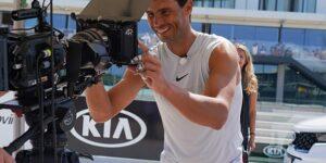 Rafael Nadal renova e será embaixador global da Kia Motors até 2025