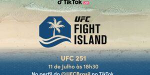 TikTok e UFC uniram forças para a inauguração da Ilha da Luta