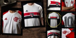 Adidas lança camisas retrô de Flamengo e São Paulo