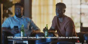 Heineken lança campanha global para ativar retorno da Champions League
