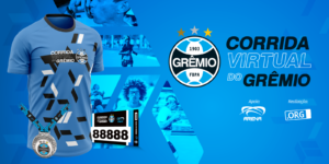 Grêmio leva para o digital sua tradicional corrida de rua