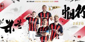 AC Milan fará turnê virtual pela China durante pré-temporada