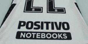Corinthians oficializa retorno de patrocínio da Positivo