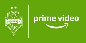 Amazon Prime Video transmitirá partidas do Seattle Sounders