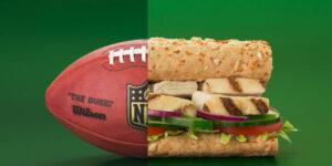 NFL fecha patrocínio com Subway para o mercado americano