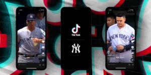 New York Yankees e TikTok negociam pioneiro contrato de patrocínio