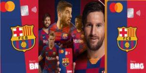 BMG lança cartão personalizado com as cores e escudo do Barcelona