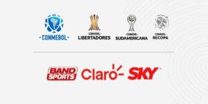 Claro e Sky liberam sinal para estreia da Conmebol TV