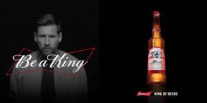 Budweiser fecha com Lionel Messi por três anos