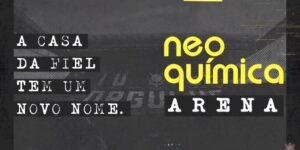 Corinthians confirma valores dos naming rights da Neo Química Arena