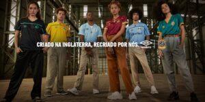 Umbro celebra 125 anos com novas camisas para seus clubes no Brasil