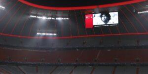 Clubes utilizam seus estádios para homenagear Diego Maradona