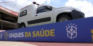 Em parceria com a Fiat, CBF doa ambulâncias a 27 estados