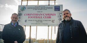 Corinthian-Casuals anuncia naming rights para o seu estádio