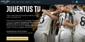 Amazon adiciona Juventus TV ao catálogo do Prime Video