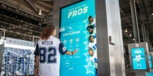 Dallas Cowboys leva ação de realidade aumentada para casa do torcedor