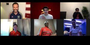 Com videochamada de atletas, Emirates surpreende fãs de Real Madrid, Arsenal e Milan
