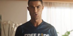 Cristiano Ronaldo é o novo embaixador e personagem do Free Fire