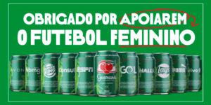Marcas se unem ao Guaraná em apoio ao futebol feminino