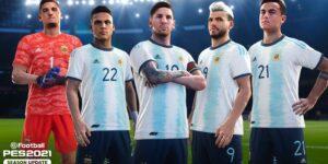 Federação argentina anuncia acordo de licenciamento com a Konami