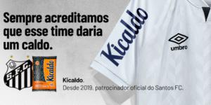 Kicaldo renova patrocínio ao Santos até o final de 2021