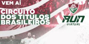 Corrida virtual do Fluminense celebra os seus quatro títulos brasileiros