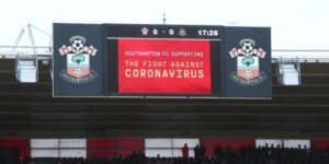 Southampton registra prejuízo de £ 76 milhões por pandemia