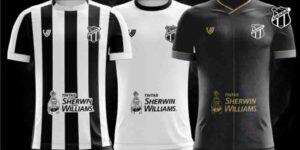 Ceará terá patrocínio da Sherwin-Williams contra o Palmeiras