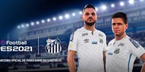 Santos anuncia a Konami como sua nova patrocinadora