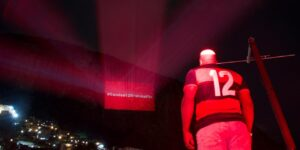 Brahma utiliza Rocinha para homenagear torcida do Flamengo