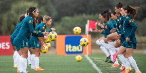 Sportv vai transmitir jogos da seleção feminina na Copa SheBelieves