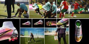 Nike convoca Cristiano Ronaldo e Ada Hegerberg para lançar nova Mercurial