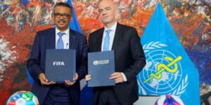 FIFA une forças com a OMS em campanha contra coronavírus